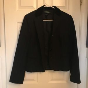 Ralph Lauren Wool Pinstriped Blazer